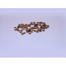 14  №3 пайетки граненные металлизированные (уп.5гр)