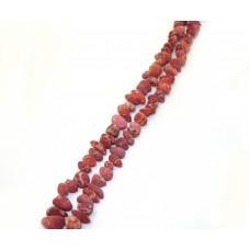 №11 кораллы лом розовый мелк.,нитка