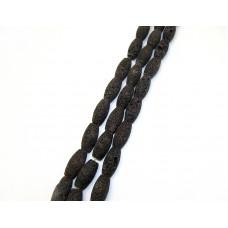 Лава боченок коричневая, нитка 36см