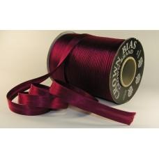 Косая бейка атласная 14мм (82м) цвет в ассортименте
