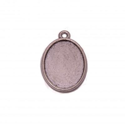 SM-1825 сеттинги,18х25,цв.серебро 1шт.