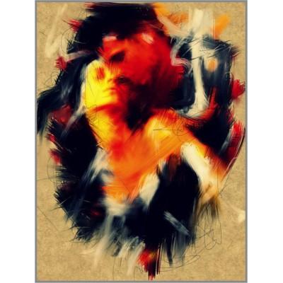 N-251 Картина (Объятия) Алмазная мозаика 20x27см, 23 цвета