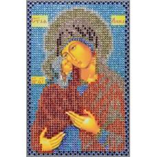 Картина(Св.Анна) стразы стекло-термоклеевые 20x28см.,10цв.