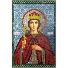 Картина(Св.Екатерина) стразы стекло-термоклеевые 20x28см.,10цв.