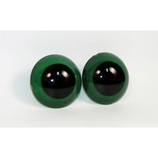 A5-20 Глазки винтовые d 40мм, черно-зеленые