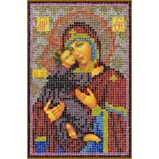 Картина(Богородица Владимировская) стразы стекло-термоклеевые 20x28см.,12цв.