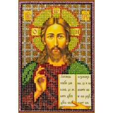 Картина(Спаситель) стразы стекло-термоклеевые 20x28см.,10цв.