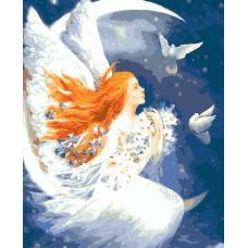 RP-5031 Картина (Лунный ангел ав. Н.Стрелкина) по номерам 40х50,24цв.сложность 3